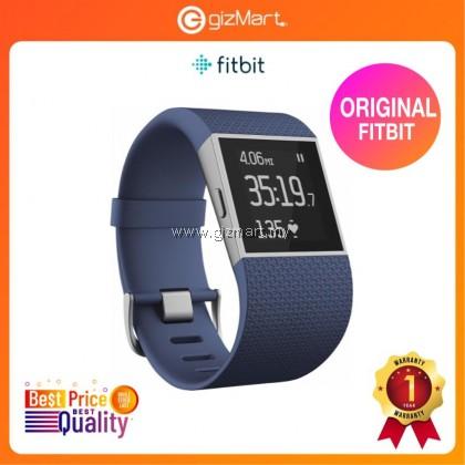 Original Fitbit Surge Fitness Wristband + Smartwatch Blue - Large