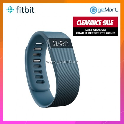 Fitbit Charge Wireless Activity Wristband - Slate Small