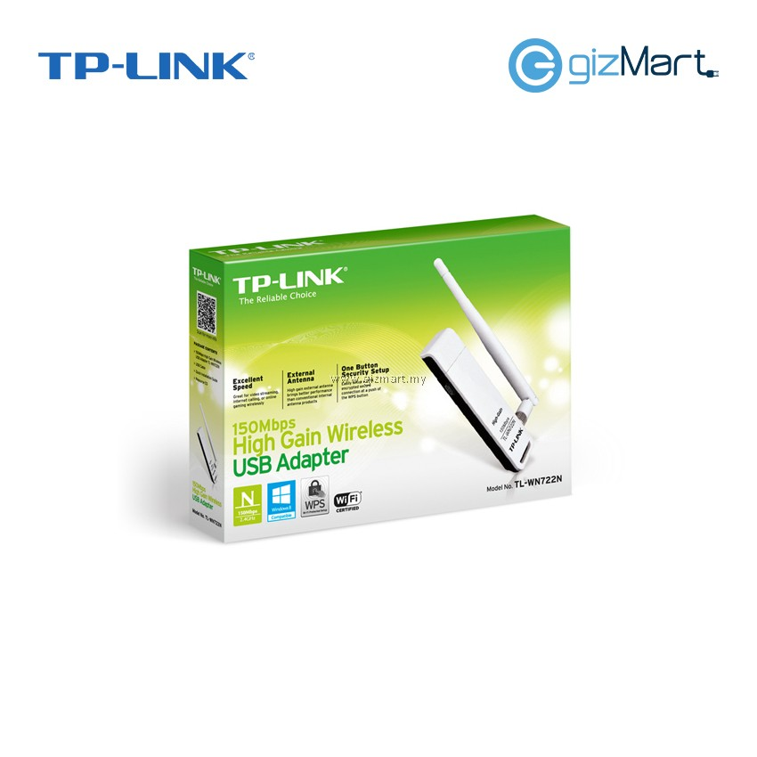 TP-Link TL-WN755N 150Mbps High Gain Wireless Usb Adapter