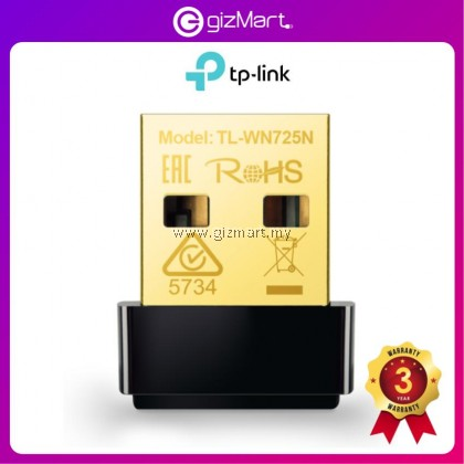 TP-Link TL-WN725N 150Mbps Wireless Nano USB Adapter