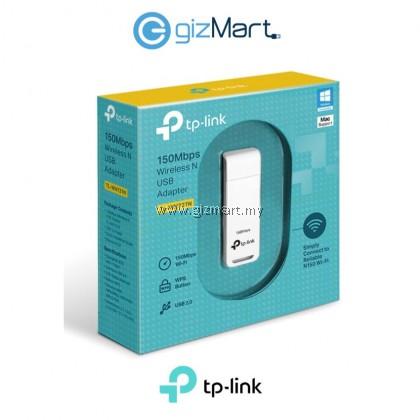 TP-Link WN727N 150Mbps Wireless N Usb Adapter (TL-WN727N)