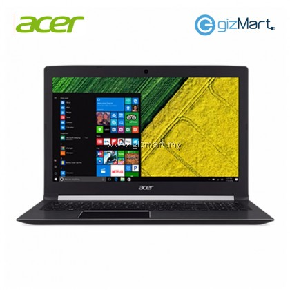 "Acer Aspire 5 A515-51G-87AJ 15.6"" Notebook-Black (i7-8550U, 4GB, 1TB+128GB, Mx150, Win10)"
