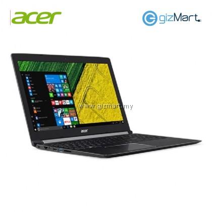 "Acer Aspire 5 A515-51G-87AJ 15.6"" Notebook-Black (i7-8550U, 4GB, 1TB+128GB, Mx150, Win10)"