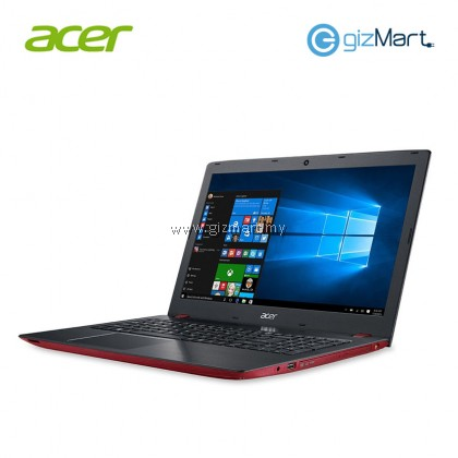 ACER Aspire E15 E5-576G-54KG Notebook-Red (i5-8250U, 4GB, 1TB,Mx150, W10)
