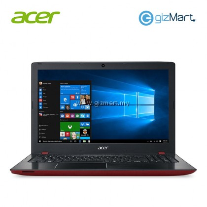 "ACER Aspire E15 E5-576G-54KG 15.6"" Laptop-Red (i5-8250U, 4GB, 1TB, Mx150, Win10)"