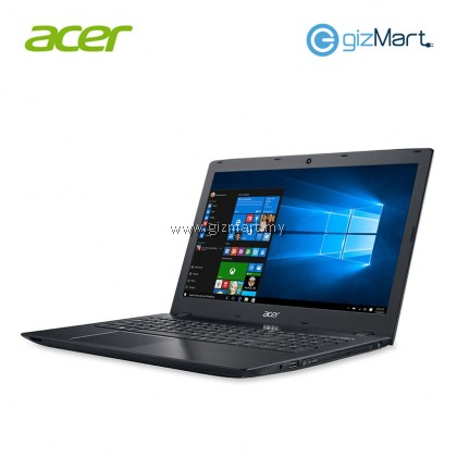 "ACER Aspire E15 E5-576G-58RV 15.6"" Laptop-Black (i5-8250U, 4GB, 1TB, Mx150, W10)"