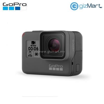 GoPro Hero 6 Black 12MP/4K60/10M Waterproof Action Cam (CHDHX-601)
