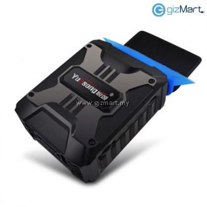 Yuesong V6 USB Portable Laptop Cooler Cooling Fan (Black)