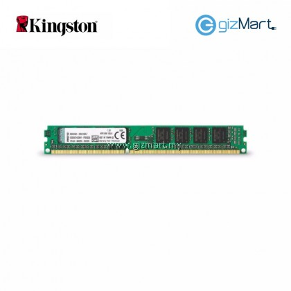Kingston ValueRam 4GB 1600MHz PC3-12800 DDR3 Desktop RAM (KVR16N11S8/4)
