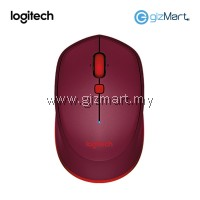 Logitech M337 Bluetooth Mouse (910-004535) (Red)