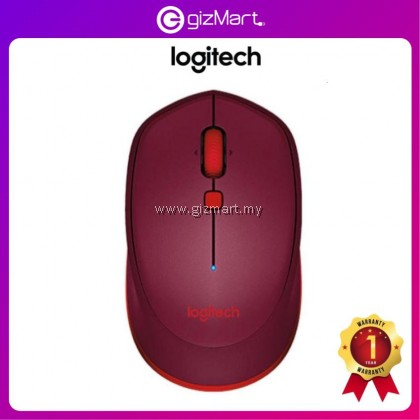 Logitech M337 Bluetooth Mouse - Red 910-004535