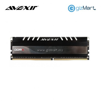 Avexir 16GBX1 DDR4-2400MHz CL16 288-Pin 1.2V Desktop RAM (White)