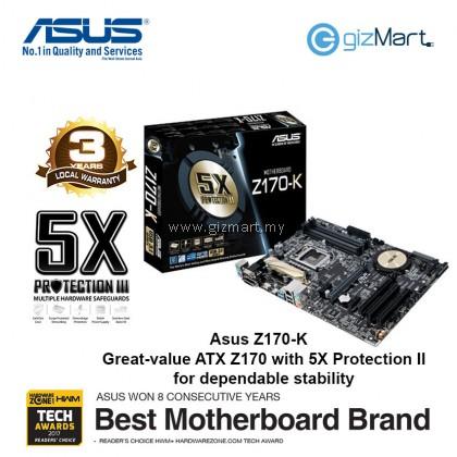 ASUS Z170-K Lga1151 Motherboard