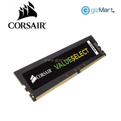 Corsair VALUESELECT 4GB DDR4 2400MHz Desktop PC RAM (CMV4GX4M1A2400C16)