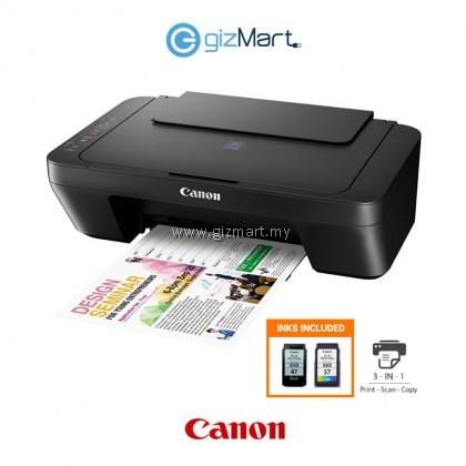 Canon PIXMA E410 All in One Inkjet Printer