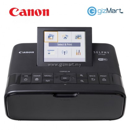 Canon Selphy CP1300 compact photo wireless mobile printer (Black)
