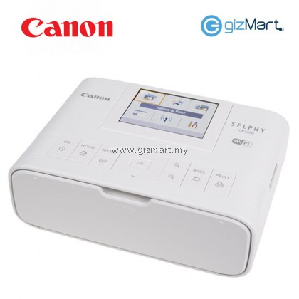 Canon Selphy CP1300 compact photo wireless mobile printer (White)