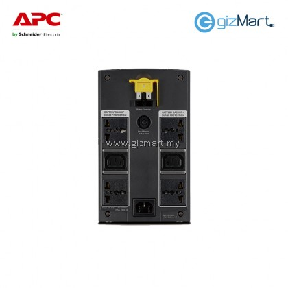 APC BX1100LI-MS Back-UPS 1100VA, 230V, AVR, Universal and IEC Sockets