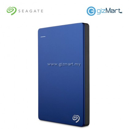 Seagate Backup Plus Slim 1TB Portable Drive (STDR1000302) (Blue)
