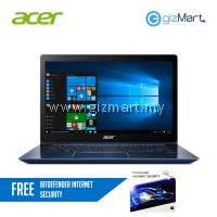 "Acer Swift 3 SF315-51-54ZB 15.6"" Laptop Blue (i5-8250U, 8GB, 256GB SSD, W10H) + FREE Bitdefender Internet Security"