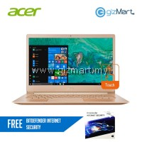 "Acer Swift 5 SF514-52T-50DZ 14"" Laptop Gold (i5-8250U, 8GB, 256GB SSD, W10H, Touchscreen) + FREE Bitdefender Internet Security"