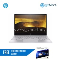 "HP ENVY 13-ad103TU 13.3"" FHD Laptop Silver (i5-8250U, 8GB, 256GB, Intel, W10) + FREE Bitdefender Internet Security"