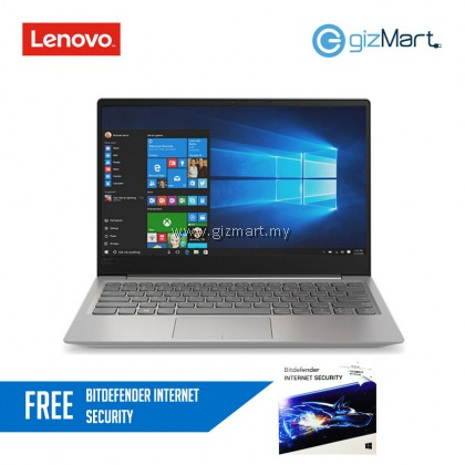 "Lenovo Ideapad 320s-13IKB 81AK000UMJ 13.3"" Laptop Grey (I5-8250U, 4GB, 256GB, NV MX150, W10H) + FREE Bitdefender Internet Security"