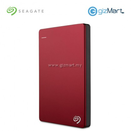 Seagate Backup Plus Slim 1TB Portable Drive (STDR1000303) (Red)