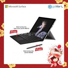 Microsoft Surface Pro - 128GB / Intel Core i5 - 8GB RAM + Type Cover + Pen (Black)