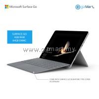 NEW Microsoft Surface Go - 64GB / 4GB RAM + Signature Type Cover (Platinum)