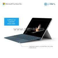 NEW Microsoft Surface Go - 64GB / 4GB RAM + Signature Type Cover (Cobalt Blue)
