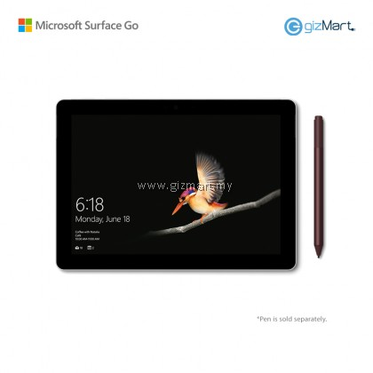 Microsoft Surface Go - 64GB / 4GB RAM + Signature Type Cover (Cobalt Blue)