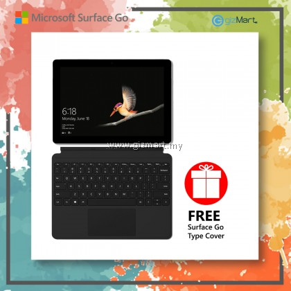 NEW Microsoft Surface Go - 128GB / 8GB RAM + Type Cover (Black)