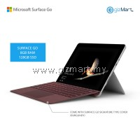NEW Microsoft Surface Go - 128GB / 8GB RAM + Signature Type Cover (Burgundy)