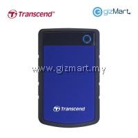 Transcend Storejet 25H3 1TB USB 3.0 Portable Hard Drive (Blue)