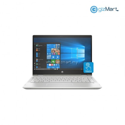 HP Pavilion X360 14-CD0036TX (Intel i5-8250U, 4GB DDR4, 1TB+8GB, MX130, W10) Touch Screen Notebook-Silver