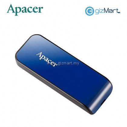 APACER AH334 USB2.0 Flash Drive - Blue / Pink