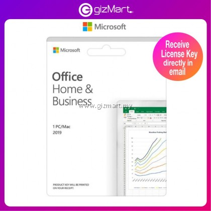 Microsoft Office Home & Business 2019 (T5D-03181) License Key Only