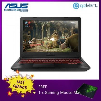 "ASUS TUF FX505G-EBQ242T 15.6"" Gaming Notebook-Black (i7-8750H, 8GB, 1TB+128GB, Gtx1050Ti, Win10) + FREE mouse mat"