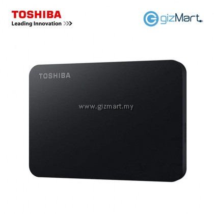 TOSHIBA 2TB Canvio Basics Usb3.0 External Hard Drive-Black