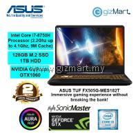 "ASUS TUF FX505G-MES182T, 15.6"" Gaming Notebook-Black (i7-8750H, 8GB, 1TB+128GB, GTX1060, Win10)"