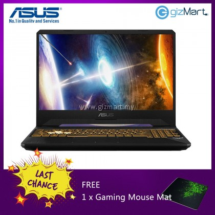"""ASUS TUF FX505G-MES182T, 15.6"""" Gaming Notebook-Black (i7-8750H, 8GB, 1TB+128GB, GTX1060, Win10) + FREE Mouse Mat"""