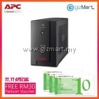 APC Back-UPS 1400VA, 230V, AVR, Universal and IEC Sockets + FREE RM30 Parkson Voucher