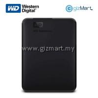 WESTERN DIGITAL 1TB Elements Portable External HDD-Black
