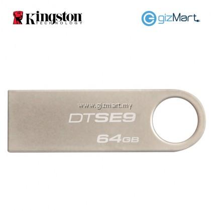 KINGSTON 64GB SE9 USB 2.0 Data Traveler Flash Drive