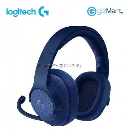 LOGITECH G433 7.1 Wired Surround Gaming Headset-Blue