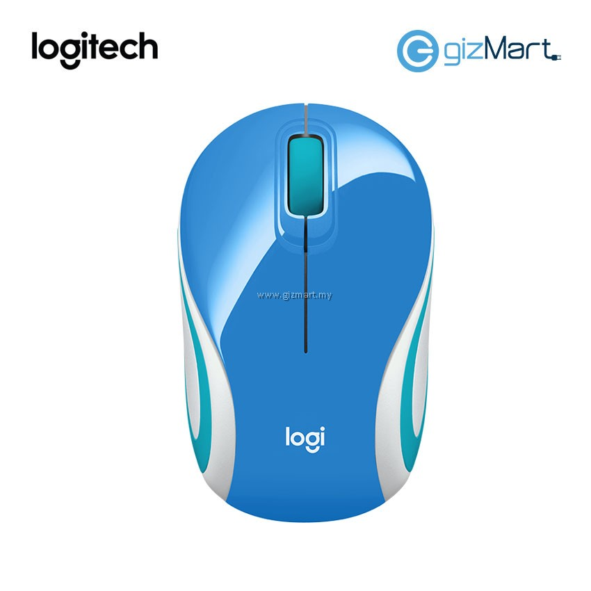 4320c49a3c9 Logitech M187 Wireless Mini Mouse (910-005372) (Palace Blue) ...