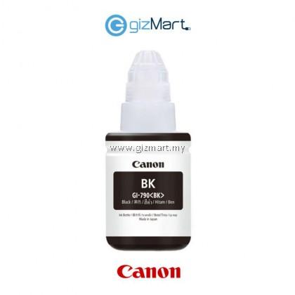 Canon GI-790 Black/Cyan/Magenta/Yellow Original Ink Bottle FOR PRINTER G1000/G1010/G2000/G2010/G3000/G4000/G4010