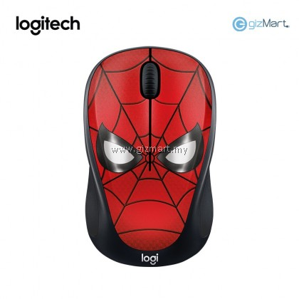 Logitech M238 Marvel Collection Wireless Mouse (Spider-Man 910-005559)