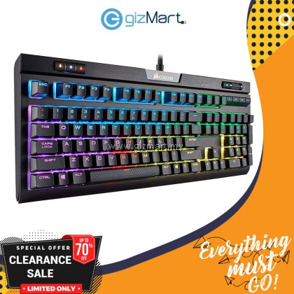 CORSAIR Strafe RGB MK.2 Cherry Mx Red Mechanical Gaming Keyboard